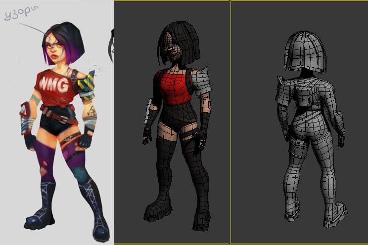 character_02 | 3D artist
