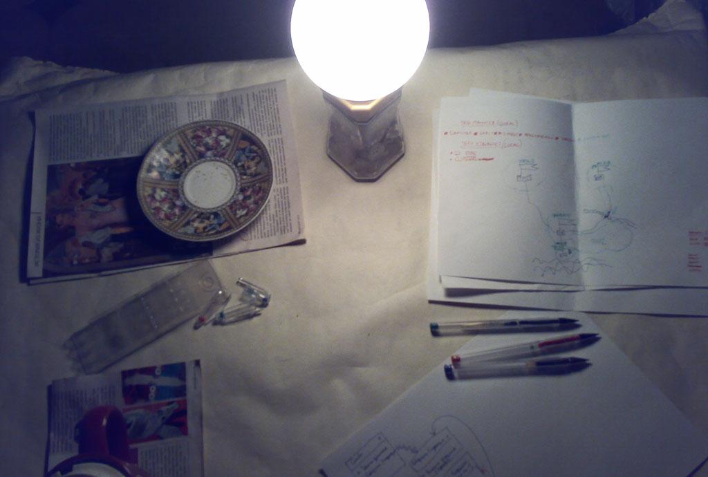 Столик для геймдизана и прочего креатива, v.1.0
