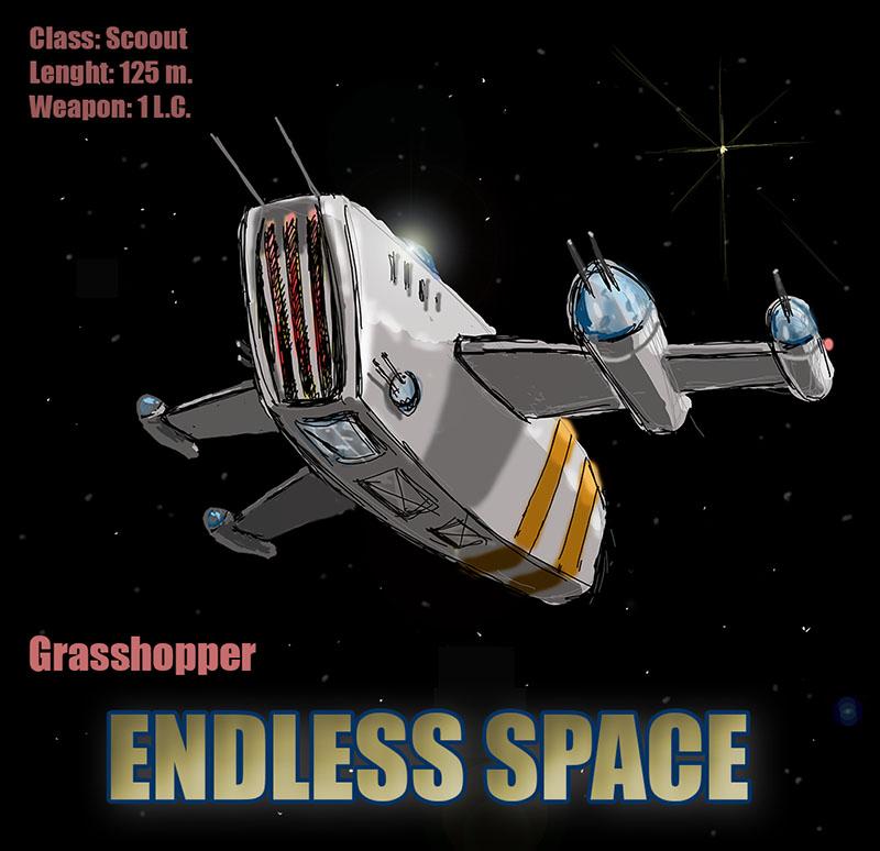 Бесконечный космос концепт