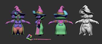 033 | Скачиваемые 3D модели стилизованных персонажей