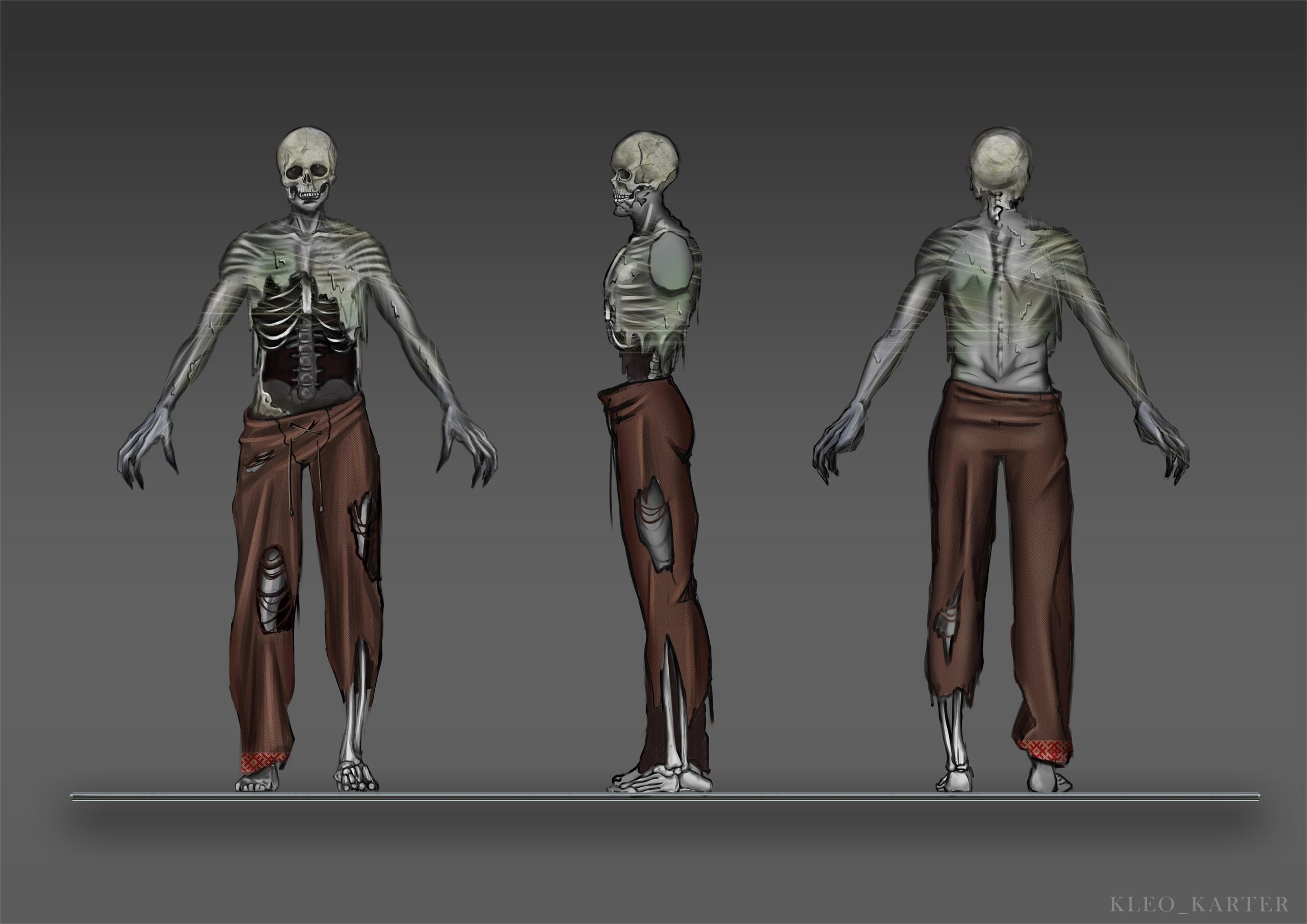 Мертвяк | 3D художник, 3D аниматор