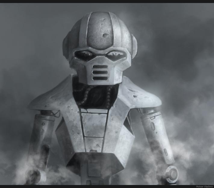 робот | 2D художник