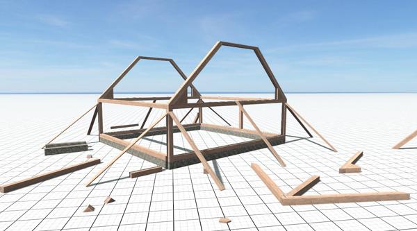 25 | Постройка зданий в игре вручную