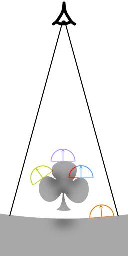 ao-sample | Screen space ambient occlusion с учетом нормалей и расчет одного отражения света.