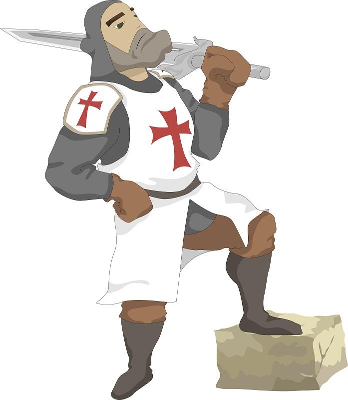крестоносец | Tamagocha рисует