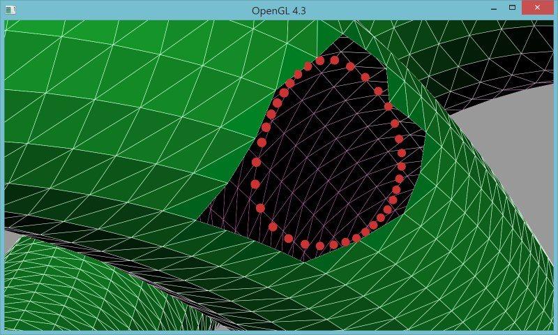 5 | Вставка одной поверхности в другую (многопоточный алгоритм)