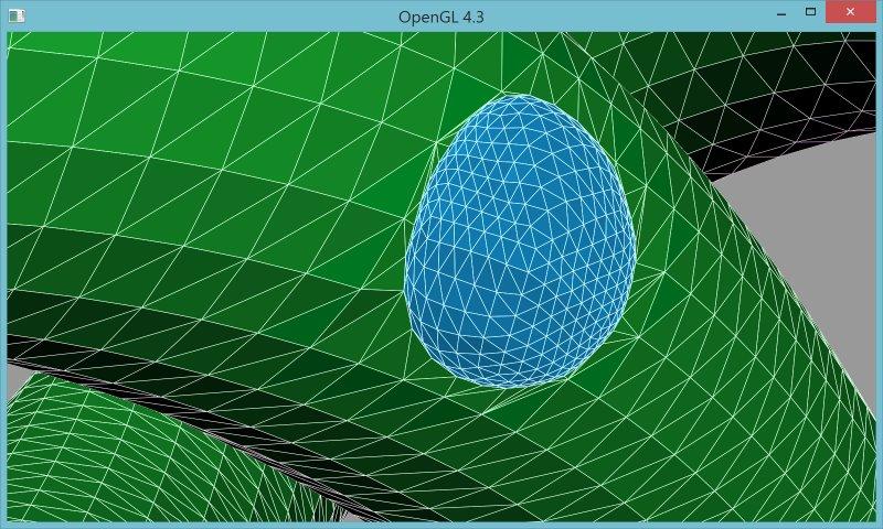 8 | Вставка одной поверхности в другую (многопоточный алгоритм)