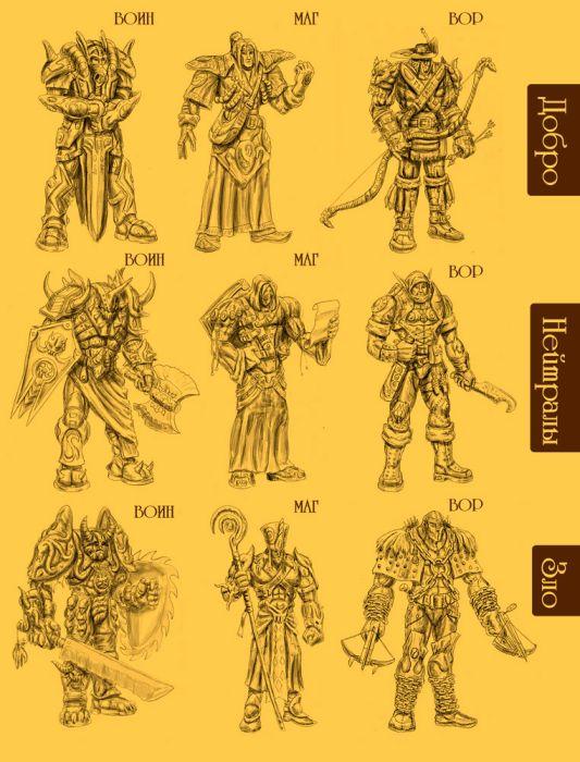 1111 | Любой игровой арт: скетчи игровых объектов и персонажей, интрефейсы, беки и т.д. (примеры внутри)