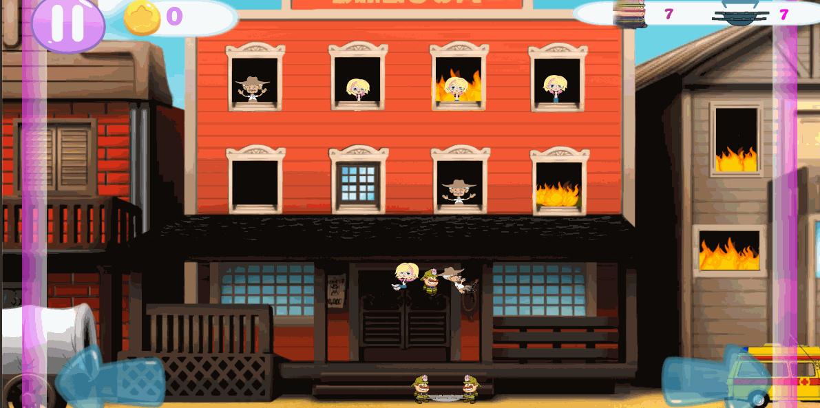Скриншот1 | Летающие Пожарные