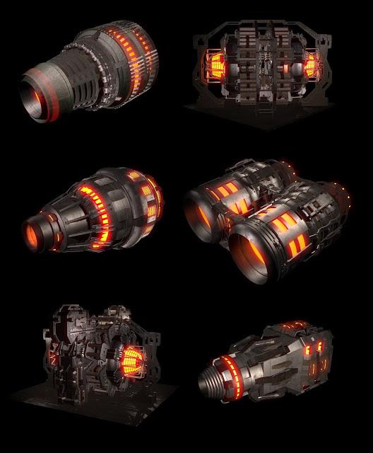 engine   3D моделлер HI-LOW poly