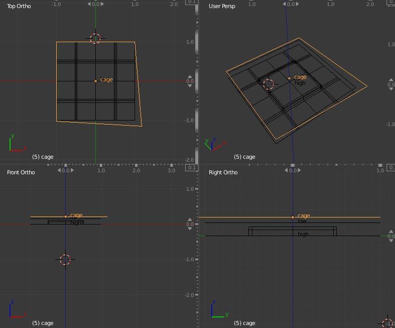 Untitled-3 | Запекание Normal Map в 3DsMax
