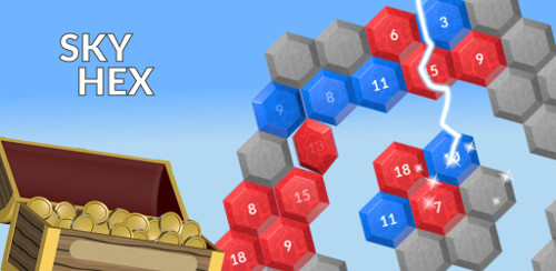 Sky Hex free puzzle game