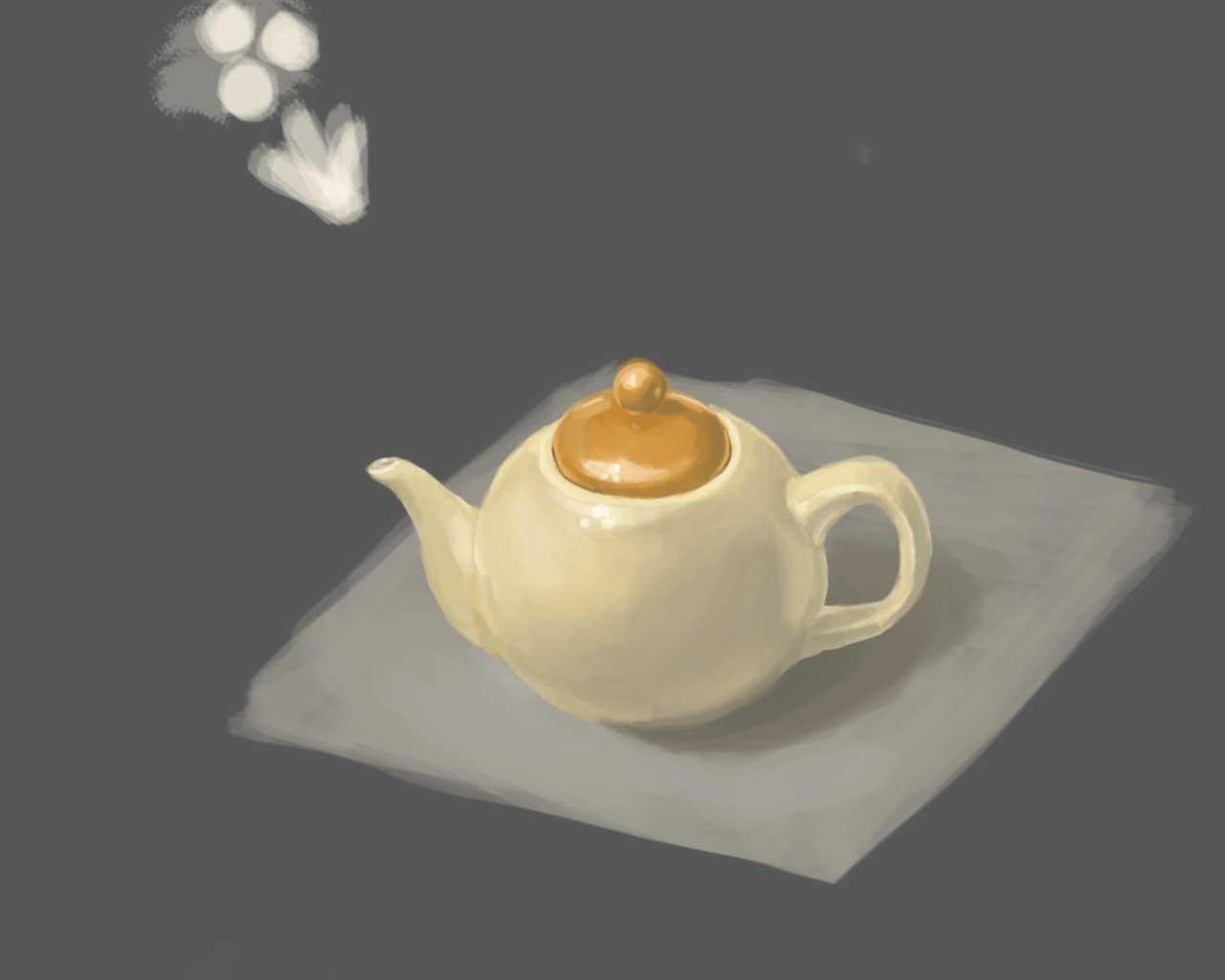 Чайник | Учимся рисовать, прогресс ли?