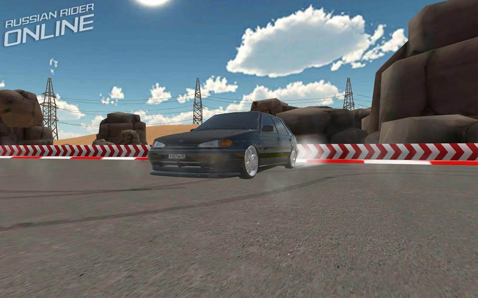 Скриншот1   Russian Rider Online (Racing, Multiplayer)