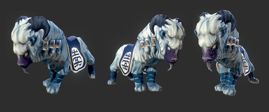 Silk Moon Ram | 3D Artist / Character Artist