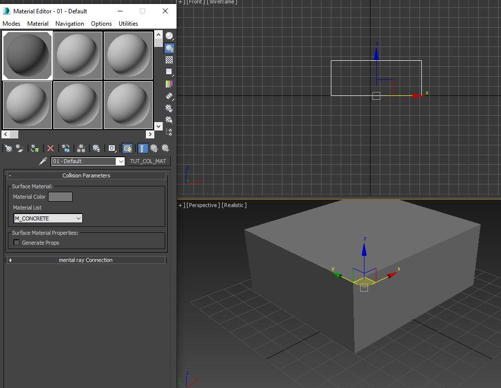 Collision Material 2 | Создание собственного материала для геометрии коллизии с помощью MAX Script