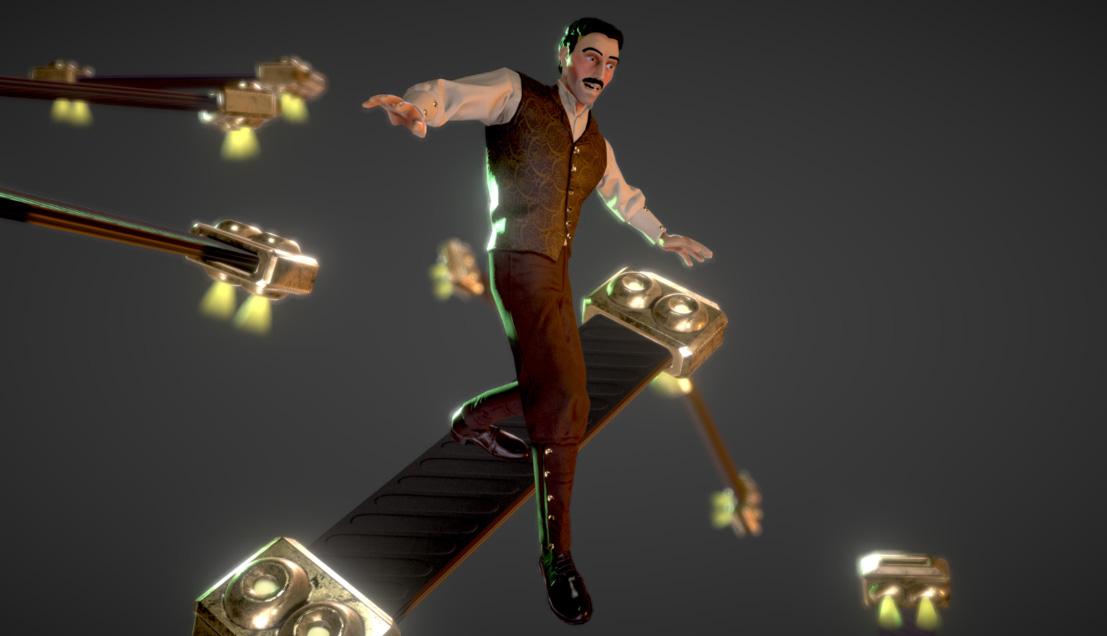 Nikola_Tesla | 3D Artist / Character Artist