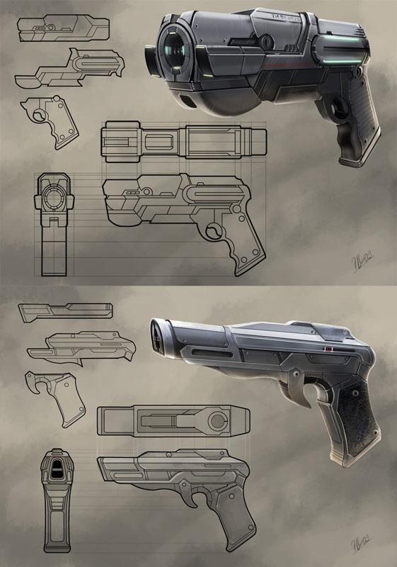 Концепт арт sci-fi 01 | ↪▶2D художник◀↩