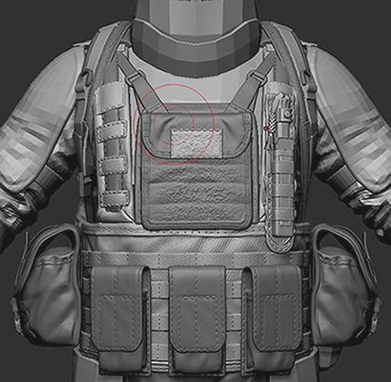 zz | wip моделька солдата