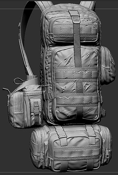 01 | wip моделька солдата