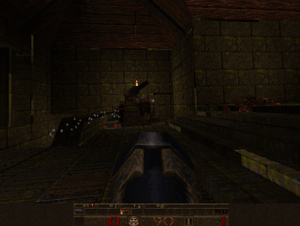 shot00 | Тестирование софт рендера Quake.