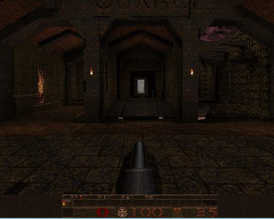 shot01 | Тестирование софт рендера Quake.