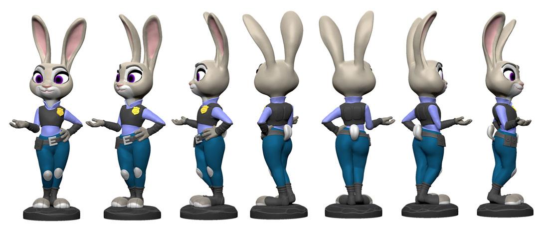 Judy Hopps Fan Art | 3D Artist / Character Artist