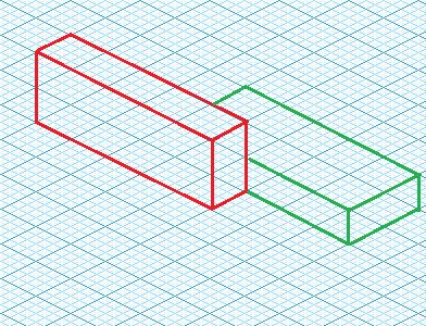 2 | Isometric rectangle rendering order