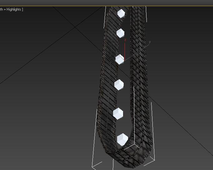 Снимок2   Наложение текстуры на гусеницу 3dsMax