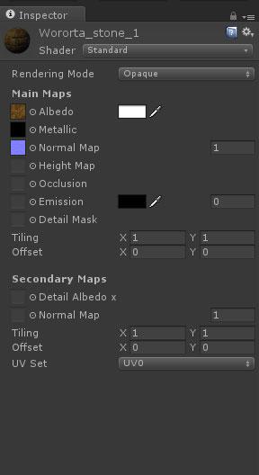 5 | Муки PBR материала в Unity, или как правильно подключать текстуры из Substance Designer