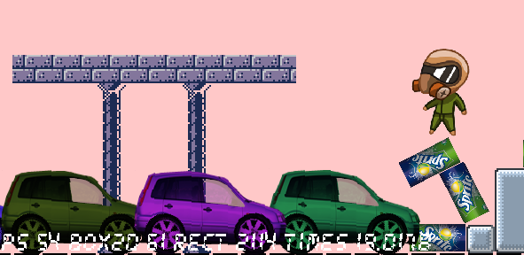 car1 | Смена ориентации сложного тела. Движение вправо и влево