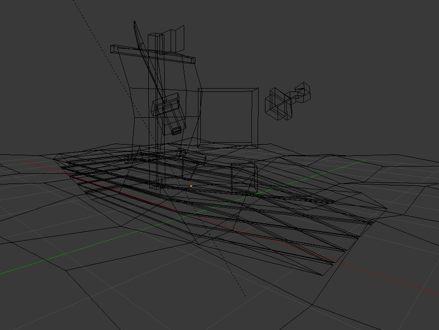 Пират сетка | Простые модельки из нескольких кубиков
