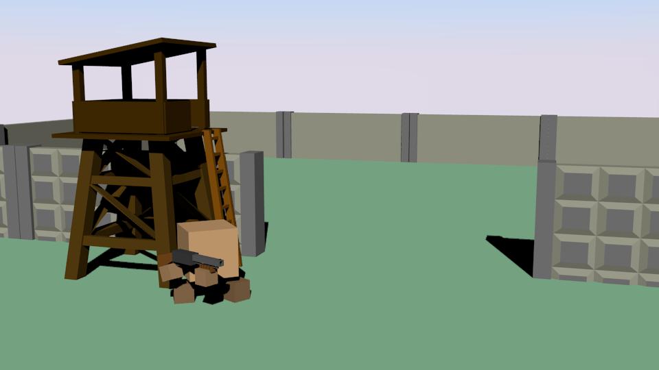 база | Простые модельки из нескольких кубиков