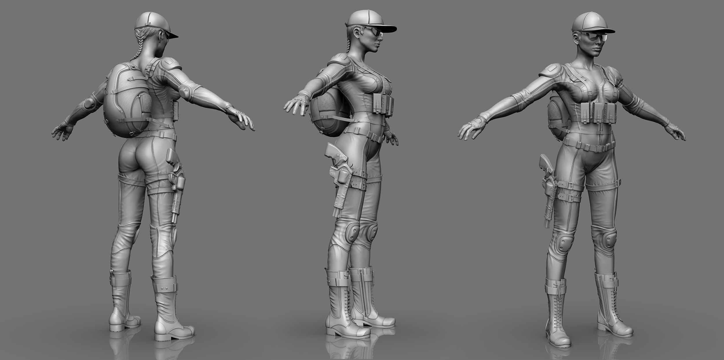 Ash | 3D 2D Artist.Game Low-poly,sculpting (Персонажи,окружение и тд)