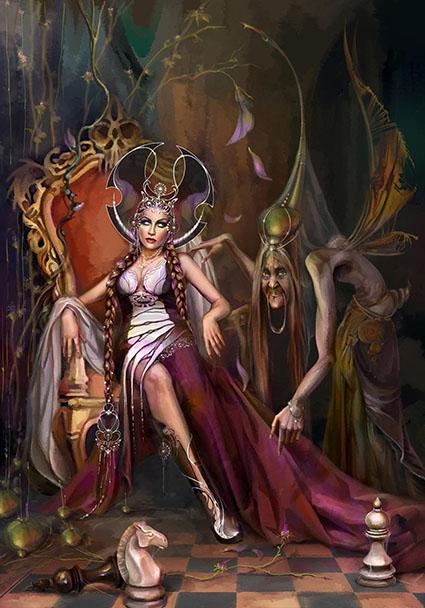 fairy | 2D Artist |концепт , иллюстрации , локации