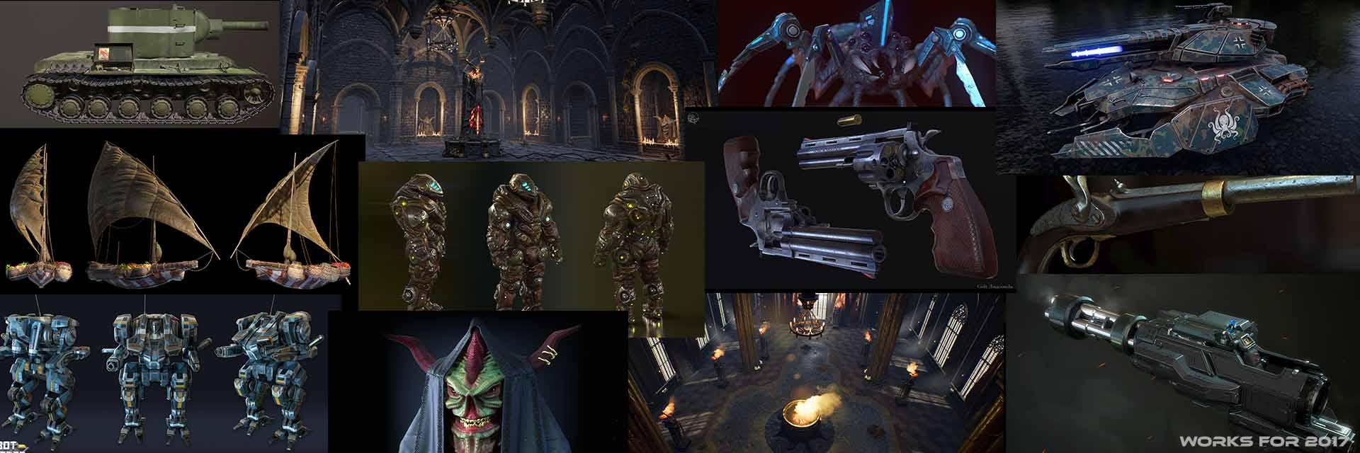 p1 | 3D 2D Artist.Game Low-poly,sculpting (Персонажи,окружение и тд)