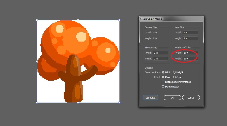 6 | Векторный PixelArt.  WTF?!?