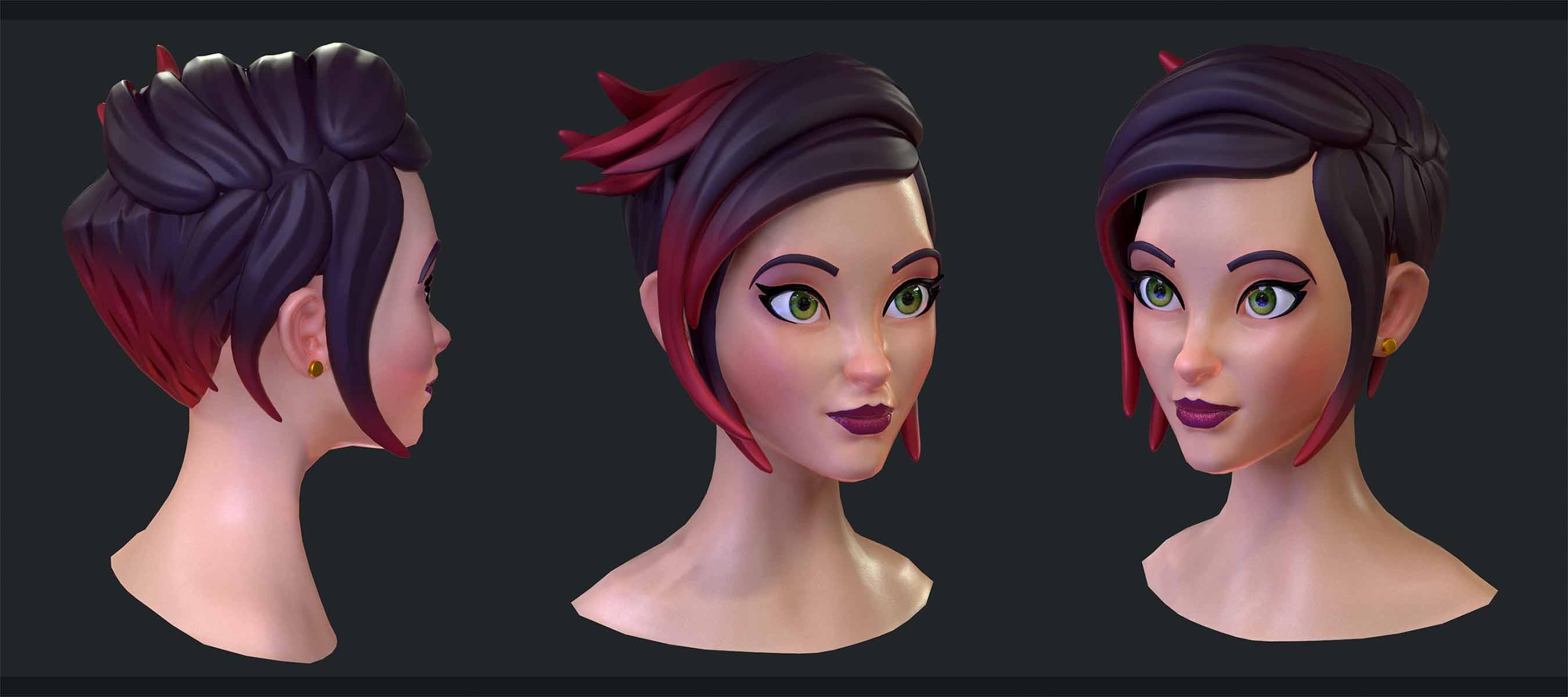 w1 | 3D 2D Artist.Game Low-poly,sculpting (Персонажи,окружение и тд)