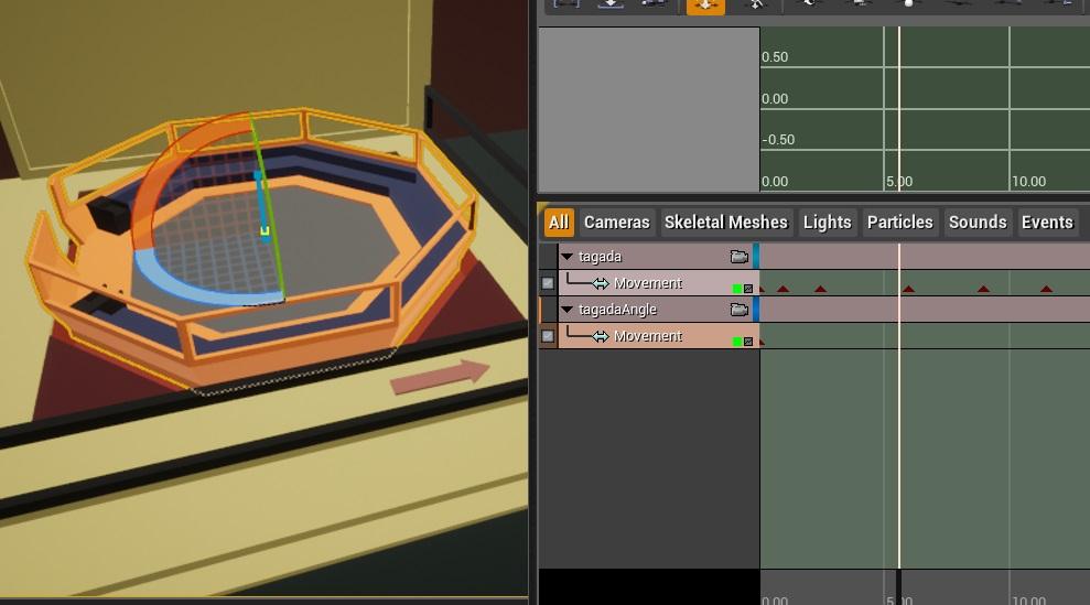 2 | UE4: как применить 2 разные анимации к 1 объекту?