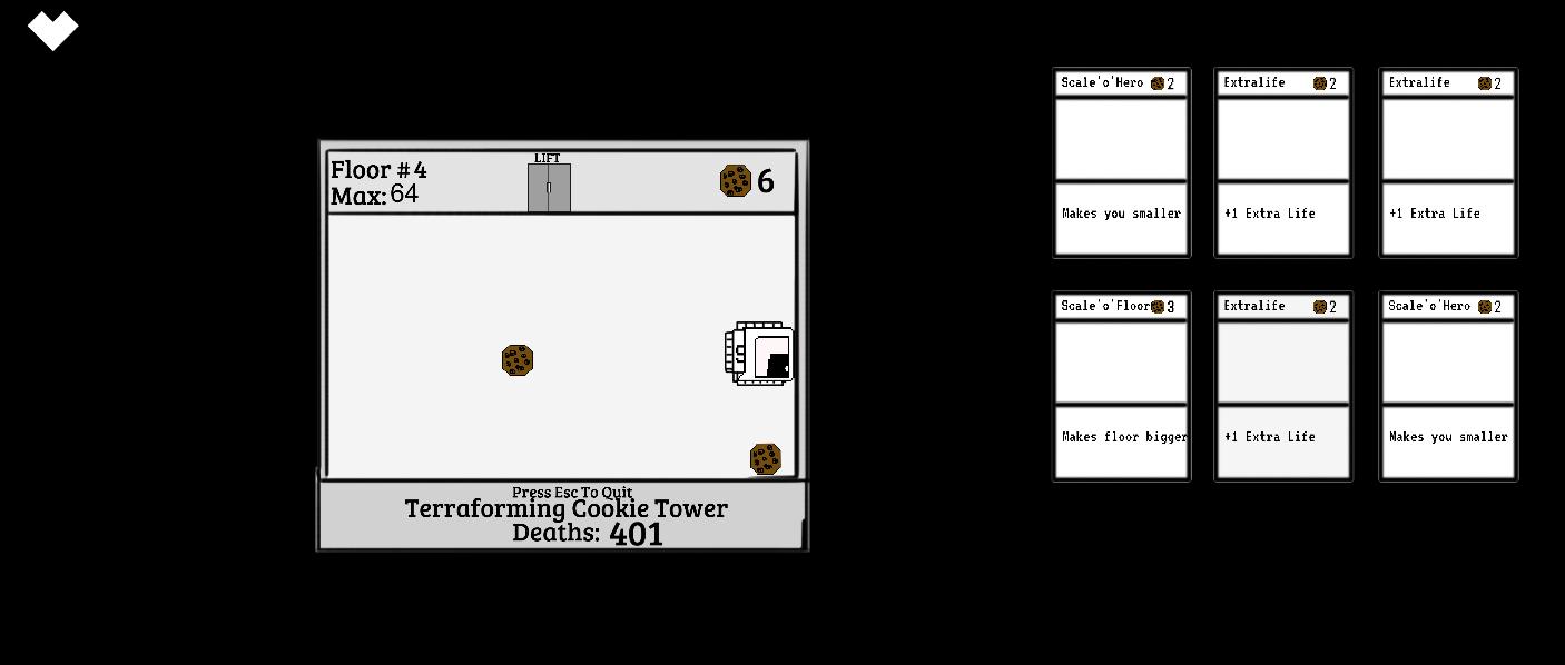 Terraforming Cookie Tower | Игры, сделанные в рамках ГеймДжемов
