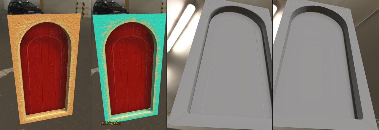 2 | 3d Environment, Props Artist. H\M\L poly. Classic, Tile, PBR. UV. Realistic\Casual, Render 2D.