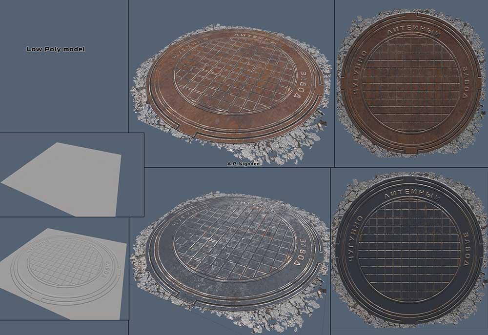 Render1 | 3d Environment, Props Artist. H\M\L poly. Classic, Tile, PBR. UV. Realistic\Casual, Render 2D.