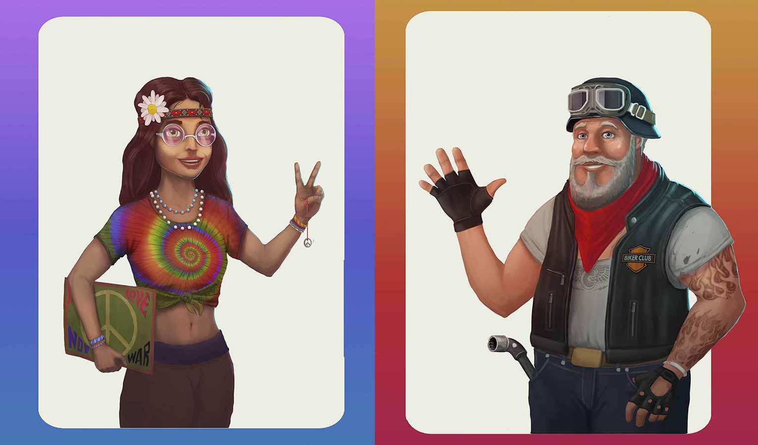 Gamedev | Концепт-художник. Разные стили. 2D (в основном) + 3D (изредка)