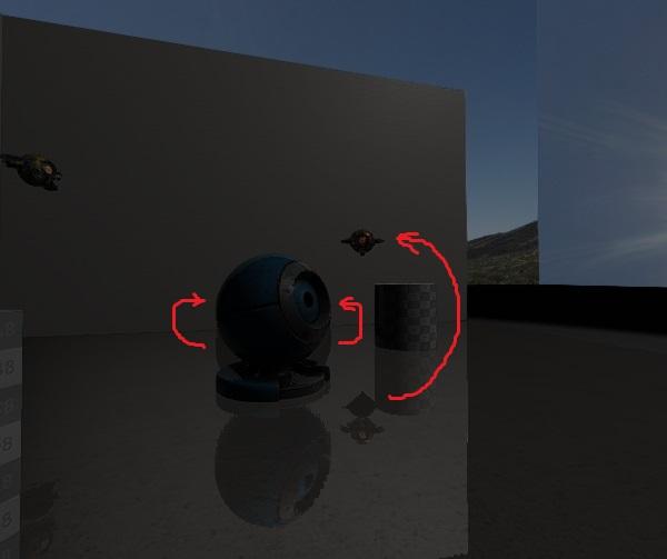 SSR bugs | SSR (Screen Space Reflections) - проблемы, артефакты