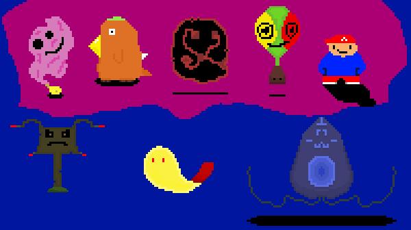 bosses | Pixel art