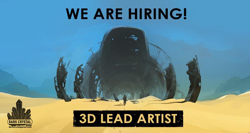 Encased Lead 3D Artist | Lead 3D Artist / Изометрическая RPG / Санкт-Петербург