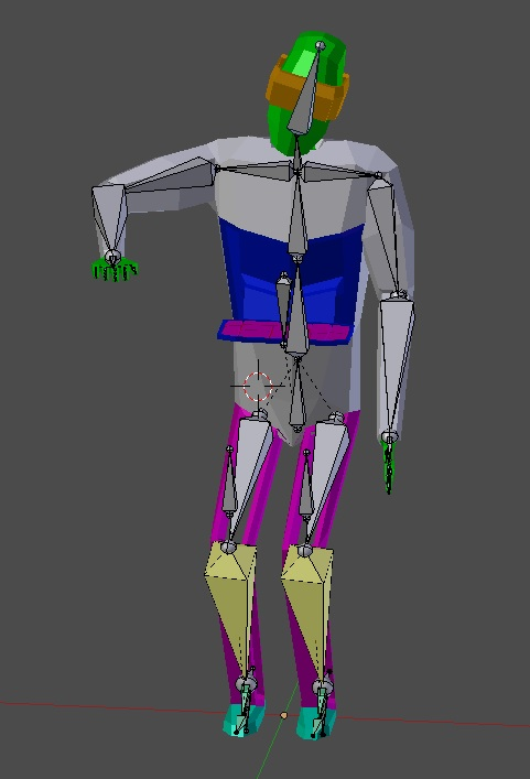 1 | Как сохранить вид модели после удаления скелета?