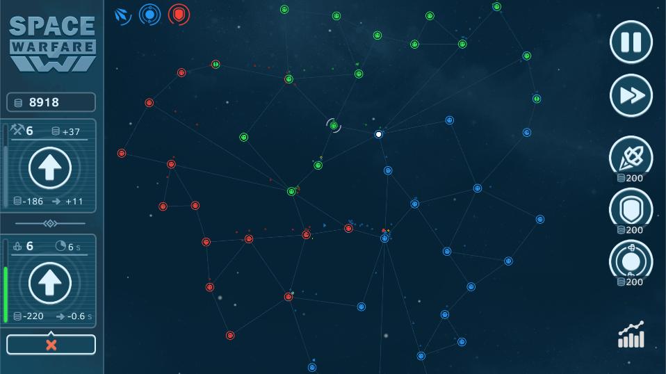 Новый генератор карт   Space Warfare - 2D Casual Strategy