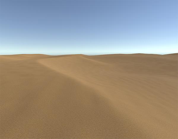 desert | Unity: почему стандартный террейн какой-то убогий?