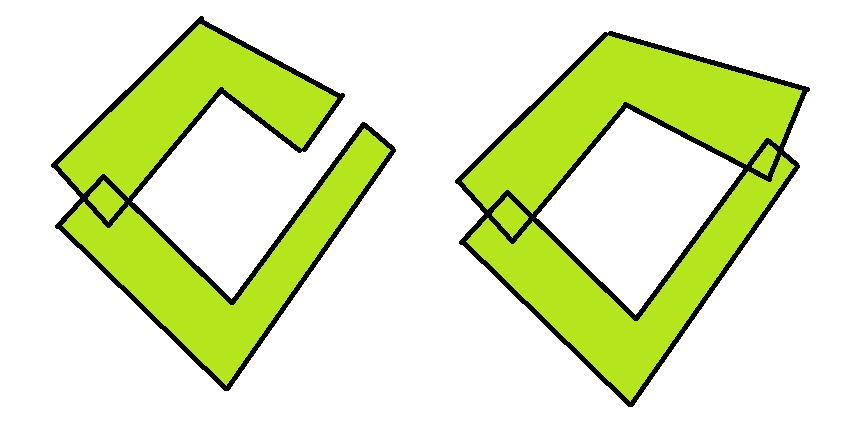 1 | Быстрый алгоритм нахождения дырок между полигонами